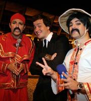 Rafael Cortez, Vesgo e Ceará fizeram caras e bocas para os cliques!!!